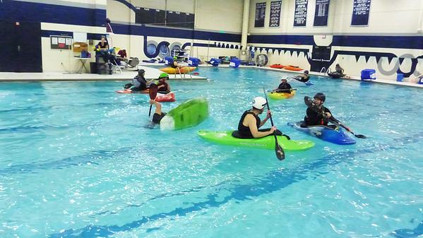 Cincypaddlers Pool Winter '15